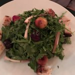 My husband loved this arugula salad - I realized the next morning that he didn't offer me a bite