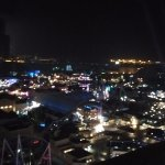 USJ from floor 22 (park view room, night)