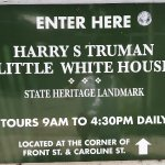 Harry S. Truman Little White House - entrance sign