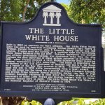 Harry S. Truman Little White House - plaque in front of house