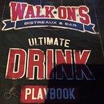 Thorough drink menu!