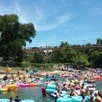 Summer crowds