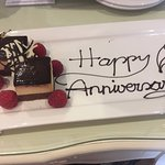 Anniversary surprise in our room
