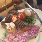 Delicious cakes from our afternoon tea