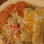 Yummy enchiladas
