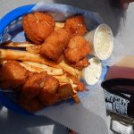 Fried scallops - delicious