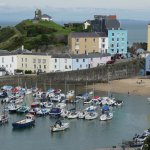 Tenby 30/40 minutes drive away