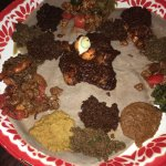 Great food!  Generous portions. Unique Ethiopian flavors