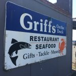 Griff's combines food, historical items and souvenirs in one building