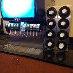 free self serve soda (Pepsi) machine- there's ice too