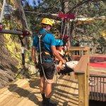 This is one of 5 ziplines in the Zip Line Tour.