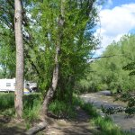 RV sites on the Big Thompson River