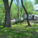 RV sites on the Big Thompson River