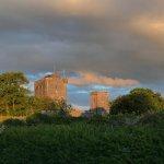 Knappogue Castle at sunset