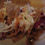 Wonton tacos appetizer