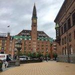 Hotel facing City Hall Square
