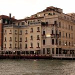 View of the hotel from the Grand Canal