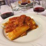 Rigatoni pomodori and cheese