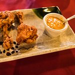 Chicken lollipops (complimentary)
