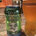 Although this is the most popular beer sold in stores (Hoponius Union), Jack's Abby has so many