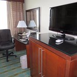 Nice Furniture and Huge Flat Screen Television
