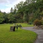 Little park by Gortletteragh Falls