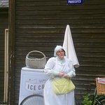 Ice Cream Salesgirl