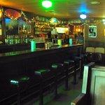 Lula's original wooden bar