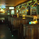Lula's cozy wooden booths