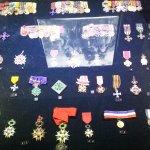 Medals from war.