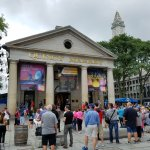 The old Faneuil Hall, now the Quincy Market.