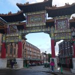 Entrance to China Town Liverpool