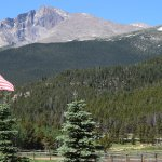 the Ranch sits near Longs Peak in Rocky Mountain National Park!
