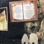 A glimpse into the cave