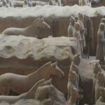 the Terra-Cotta army upclose