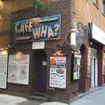 Legendary Cafe Wha? Greenwich Village
