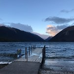 Took a rental car from Picton to Nelson lakes and stayed at the alpine lodge! So worth the drive