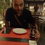 Mosquito y cerveza japonesa
