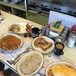 Amazing breakfast spread!