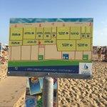 Poolbereich und Strand