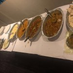 This is how a buffet is served in Tandoori Palace Restaurant, Sydney that too in winters.People