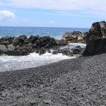 The Black Sand Beach (clothing optional)