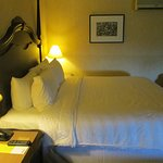 Bedroom on the second floor of the King Executive Suite
