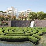 The Getty Center Garden