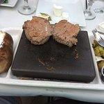 Filet Mignon on 700 degree cooking stone