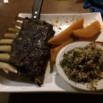Lamb Ribs, Roasted Potatoes, Tabbouleh