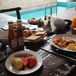 Breakfast served