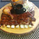 BBQ Ribs & Chicken (all you can eat)