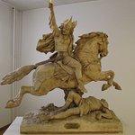 Statue équestre de Vercingétorix (située à Clermont-Ferrand).