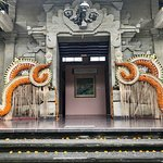 Entry to the South Building, Puri Lukisan Museum